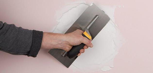 Картинки по запросу ремонт повреждённой штукатурки