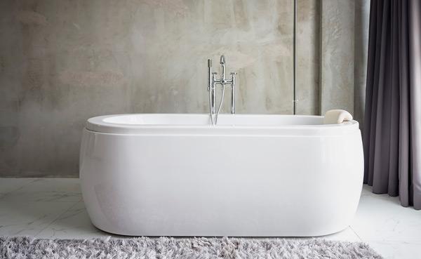 Влагостойкая штукатурка и ванна
