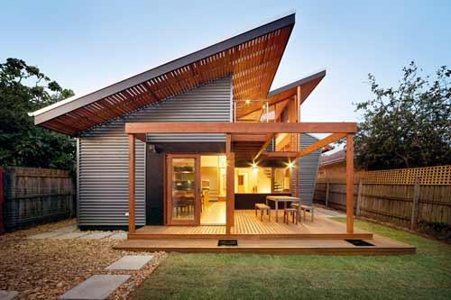 дом отделанный планкеном