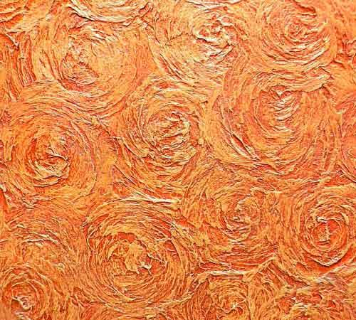 розы из шпаклевки