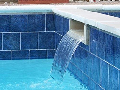 бассейн облицованый плиткой