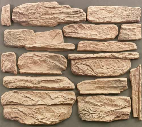 самодельный декоративный камень