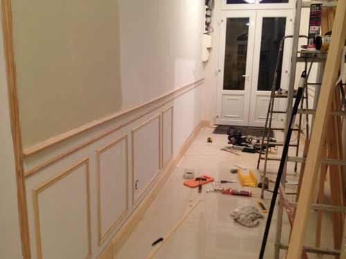 деревянные молдинги для стен