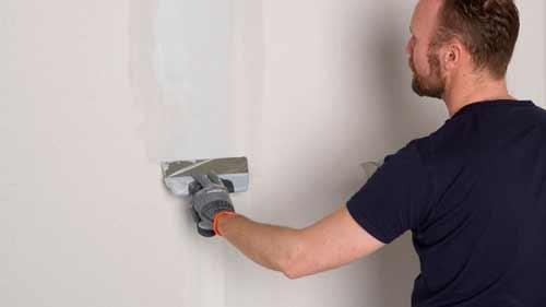 шпаклевание гипсокартонной стены