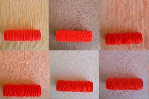 валики для фактурной краски