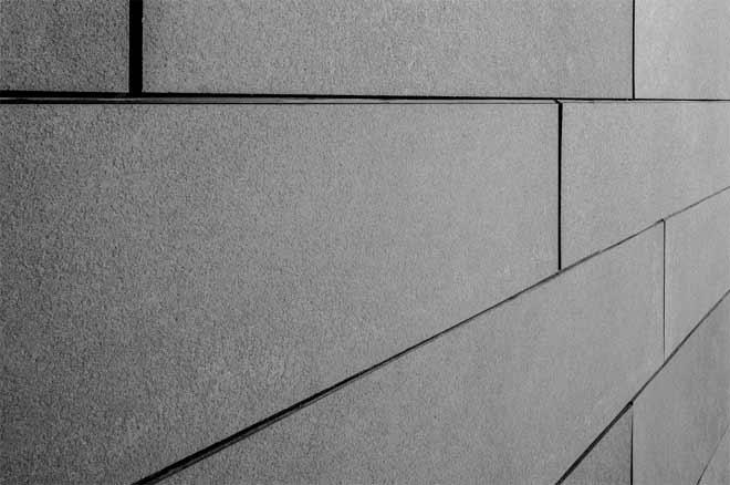 фасад из бетонной плитки