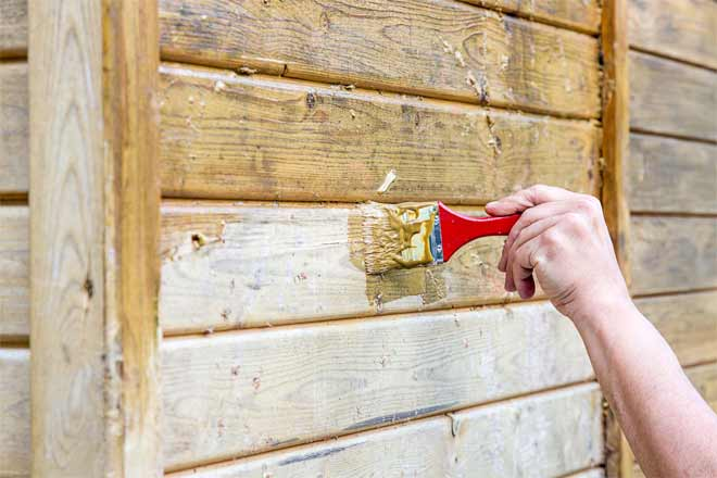 грунтовка деревянных поверхностей