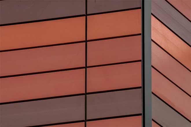 фасад из терракотовой плитки