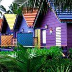 отделка деревянного дома снаружи краской