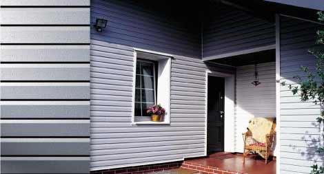 отделка деревянного дома снаружи сайдингом