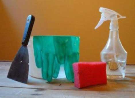 инструменты для демогтажа обоев