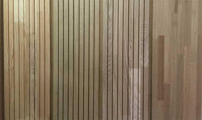 деревянные реечные панели