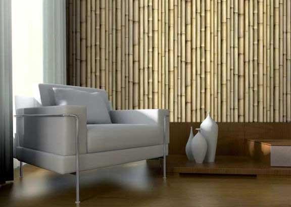 реечные панели из бамбука
