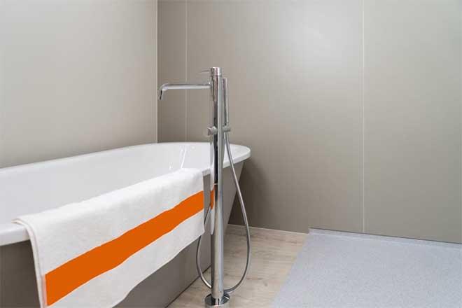 Стеновые панели в ванной