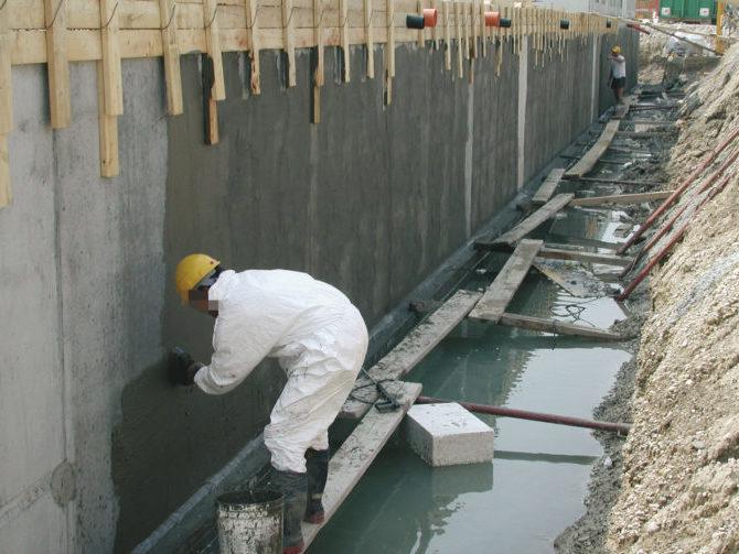 Виды и способы гидроизоляции