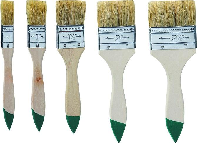 виды кисточек для покраски