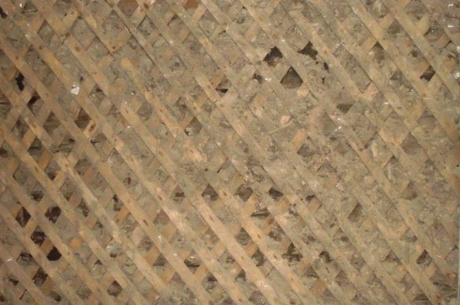 оштукатуривания деревянных стен
