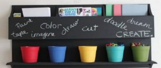 Как выбрать и красить грифельной краской?