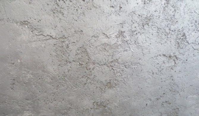 Штукатурка на цементной основе