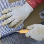Процесс штукатурки пеноплекса внутри помещения