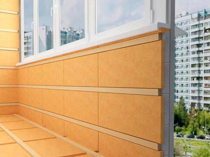 Чем лучше утеплить балкон