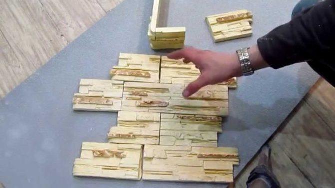 Как обложить камин декоративным камнем