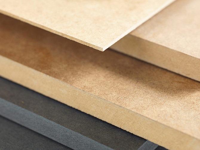 Плиты из древесного волокна