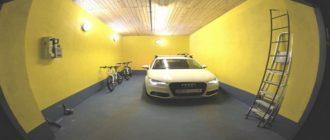 Стены в гараже