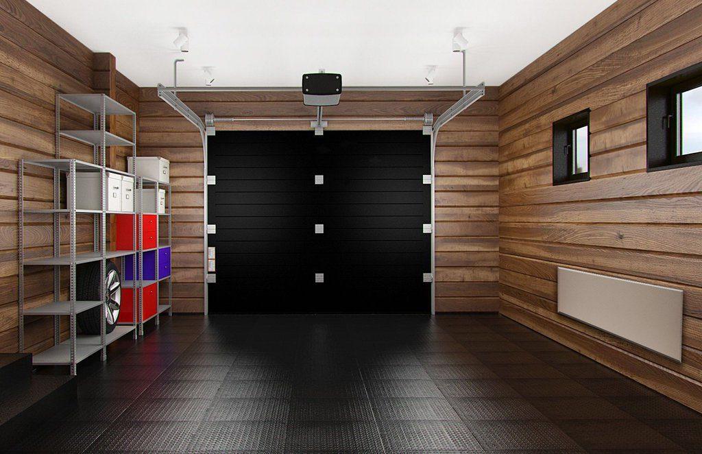 Деревянная обшивка гаража