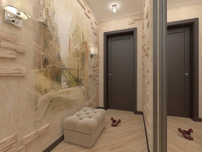 Фотообои в коридоре