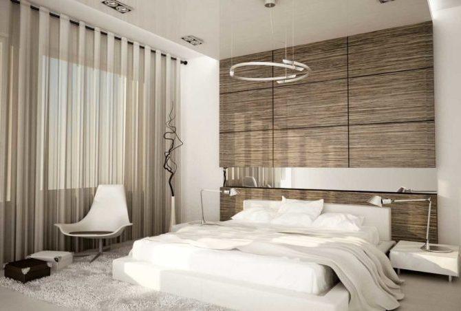 Стеновые панели в спальне
