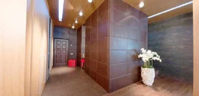 Кожанные стеновые панели