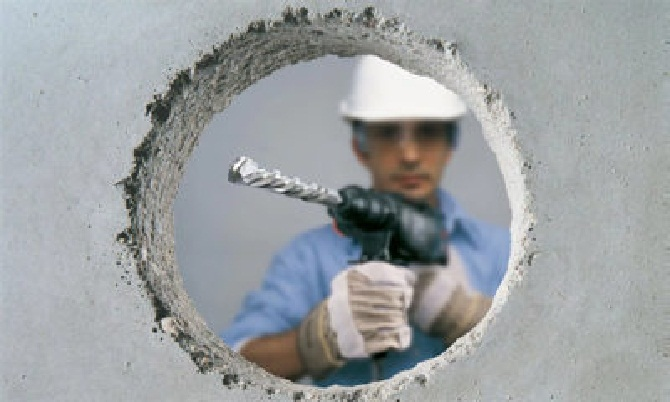 Сверлить бетон