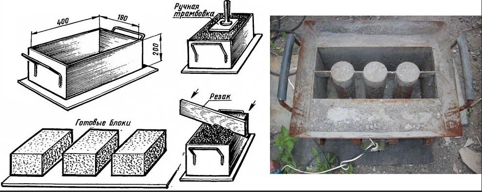 Металлическая форма
