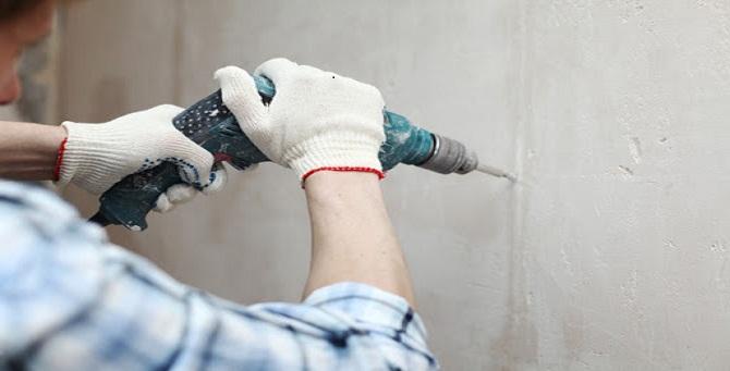 Сверлить стену