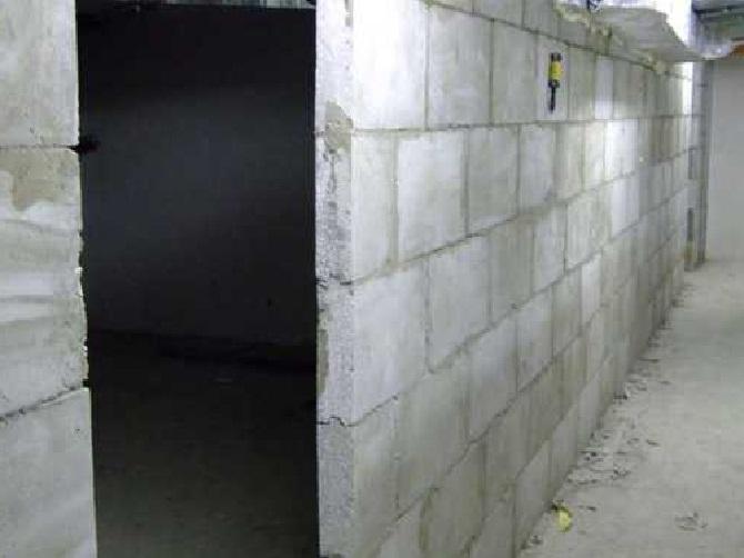 Перегородки из гипсовых блоков