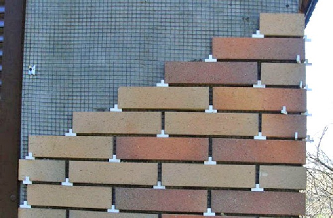 Фасад из плитки