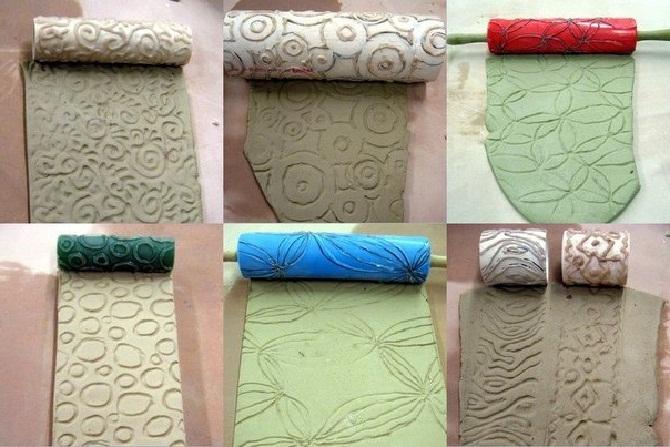 Текстурные валики