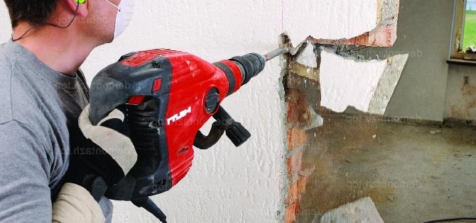 Разобрать кирпичную стену