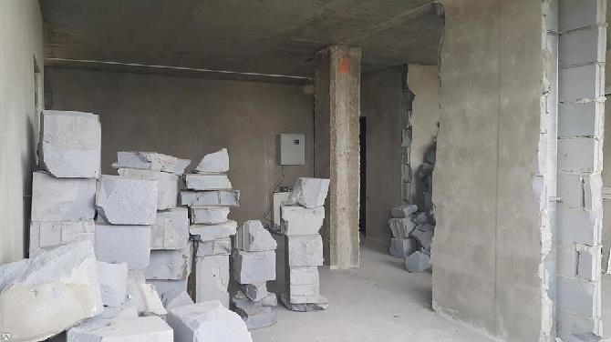 Демонтировать стену из пеноблока