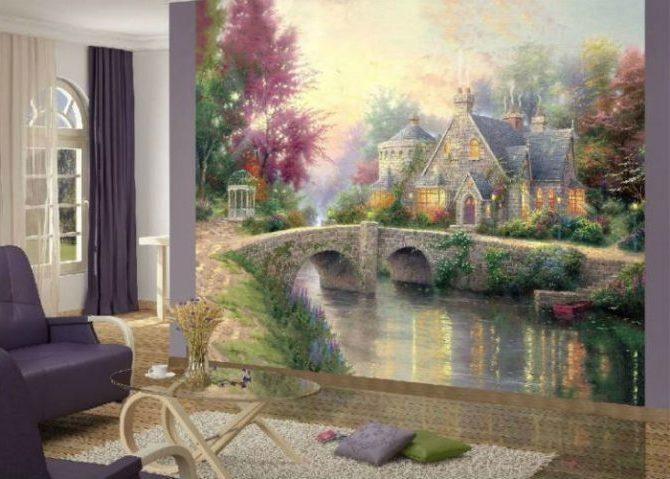 фреска в холле