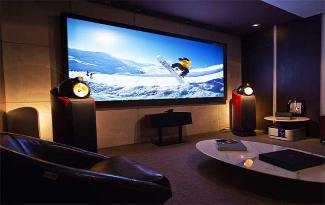 Шумоизоляция дома с домашним кинотеатром