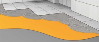 гидроизоляция под плитку