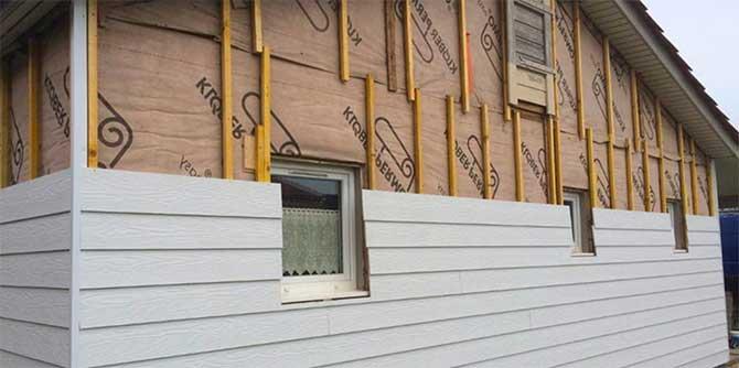 шумоизоляция деревянного дома снаружи
