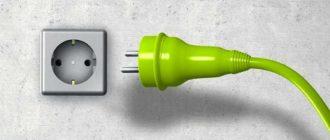 розетка электрическая
